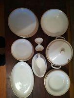 Набор посуды Чехословакия Чехия столовый фарфор 6 шесть персон