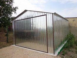 Garaż blaszany ocynk BUDOWA blaszak na budowę garaże 3x5 PRODUCENT