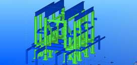 Structural Steel Detailing Architectural, Drawings, Drawing House