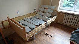 łóżko elektryczne rehabilitacyjne z nowym materacem do snu