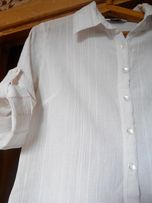 Рубашка, блузка, на девочку-подростка, 100% х/б, муслин дорейя.