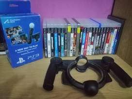 Playstation 3 with motion controller
