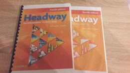 New Headway 4th pre-intermediate students book+work book