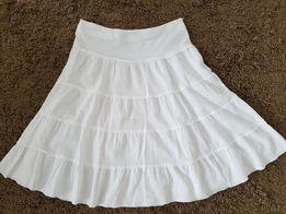 Biała spódnica na lato r. L
