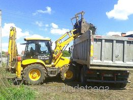 Демонтажные работы техникой и вручную погрузка вывоз строй мусора