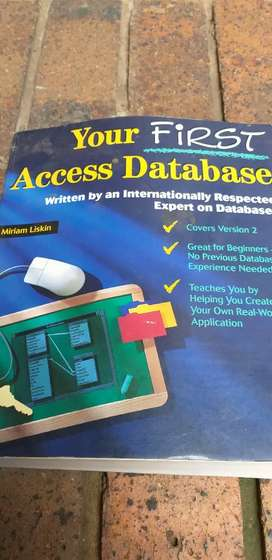 Your First Acces Database Computer Book