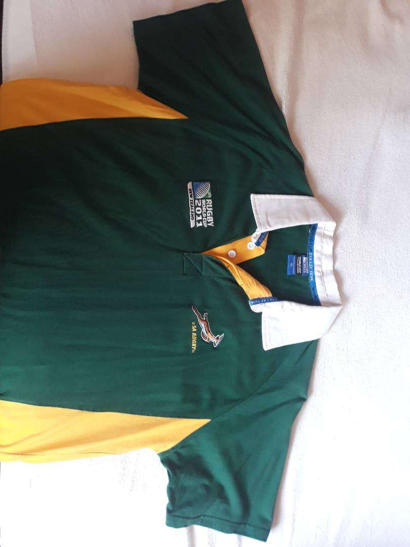 2011 Springbok Rugby Shirt Collection 0