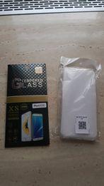 Szkło hartowane iPhone 6 6S plus + etui przezroczyste