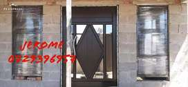 HOME IMPROVEMENT ALUMINUM WINDOWS AND DOORS AND STEEL WORKS