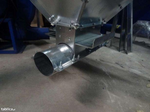 Zbiornik silos pojemnik do paszy zboża pelletu 2000 litrów ocynk Dakowy Suche - image 6