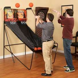 Games Package Deal - Air Hockey and Basketball Shoot