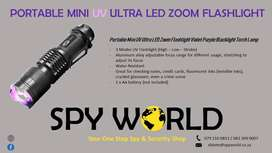 Portable Mini UV Ultra LED Torch