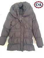 C&A płaszcz kurtka puchowa 36 38 SM idealna