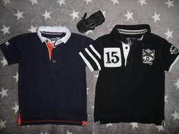 Фирменные футболки Поло на мальчика 2-3 года 24-36 мес