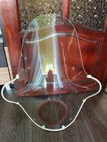 Ветровое стекло стояло на мотоцикле Ява, продается без крепления.