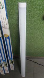 Lampa led natynkowa listwa 36w = 72w 120cm dł