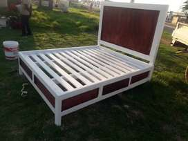 Double base bed