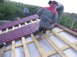 Монтаж крыш и заборов