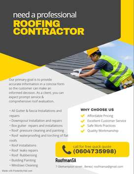 Roofing Repairs and Maintenance - RoofmanSA