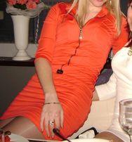 продам платье красное атласное