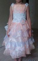 Выпускное нарядное платье 110-122р