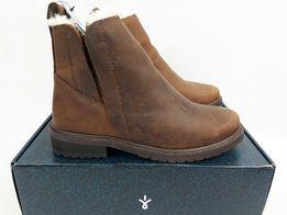 Emu Australia pioneer leather w11692 oak eu38 7us 5uk braz botki buty