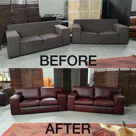 For all your Upholstery in Genuine Leather or material