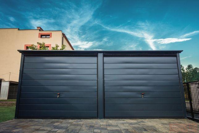 Garaż blaszany 6x6m Grafit |Garaże blaszane| Wzmocniony Raciechowice - image 2