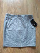 Spódnica mini, szara rozmiar 36 Reserved, nowa