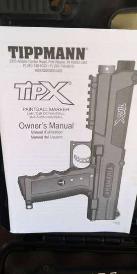 Tipx paintball gun