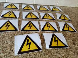 Electrical stikers