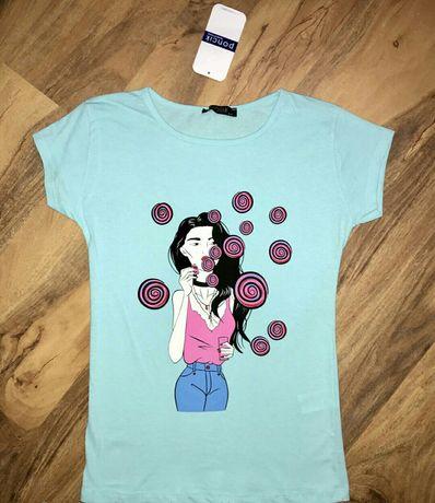 Женская футболка хлопок размер 42. 44. Херсон - изображение 4