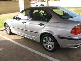 A 2002 3series BMW for sale.Its overheating which  can be fixed.