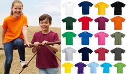 Детская футболка Тонкая 100% ХЛОПОК Легкая Унисекс Fruit of the Loom