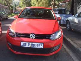 VW POLO 6 1.4 LITRE 2012 MODEL