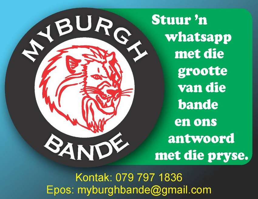 Bande for sale/Tyre's for sale 0