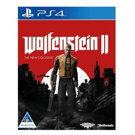 Wolfenstein II: The New Colossus PS4. New and Selaed