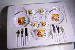Стеклянная детская посудка / посуда