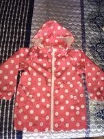 Дождевик, куртка, ветровка для девочки