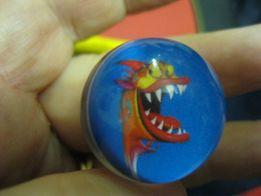 детская игрушка шар шарик типа оргстекло дракон мячик твердый