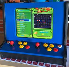Table top arcade game machine