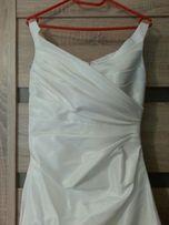 Piękna suknia ślubna, sukienka, bolerko