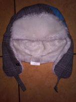 Czapka Salomon zimowa z nausznikami zimowa męska