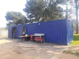Mobile container shop