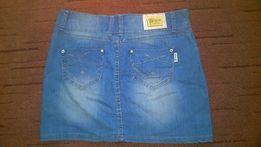 Spódnica jeansowa roz M-L