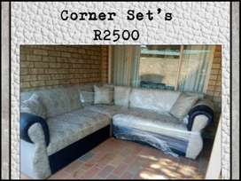 New Corner Couches for sale R2500