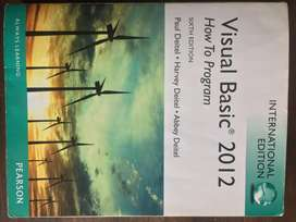 Programming textbook Visual Basic 2012 how to program 6th edition
