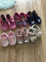 Buty dla dziewczynki rozmiar 19-22