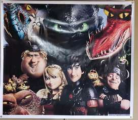 How to Train your Dragon - Canvas