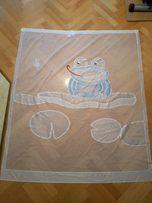 Firanki z żabką do pokoju dziecka
